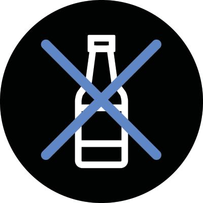 Ne consommez pas d'alcool