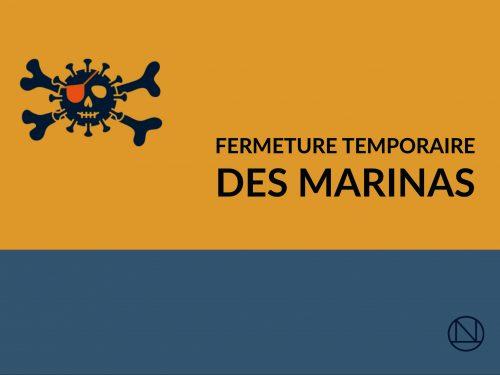 COVID-19 :<br>La fermeture temporaire des marinas: c'est vital